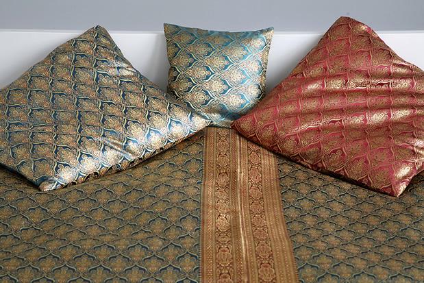 begum handgewebte plaids und tagesdecken aus musselin. Black Bedroom Furniture Sets. Home Design Ideas